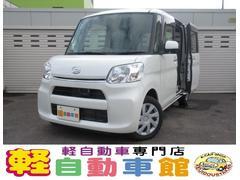 タントX SA ABS エコアイドル 片側パワスラ 4WD