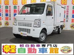 キャリイトラック冷蔵冷凍車 エアコン パワステ マニュアル 4WD