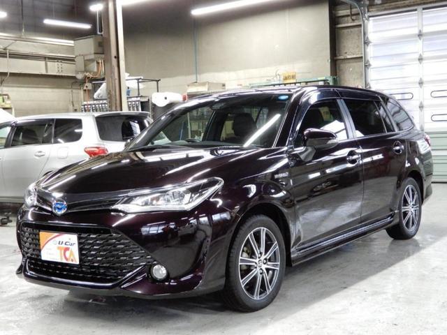 「トヨタ」「カローラフィールダー」「ステーションワゴン」「北海道」の中古車