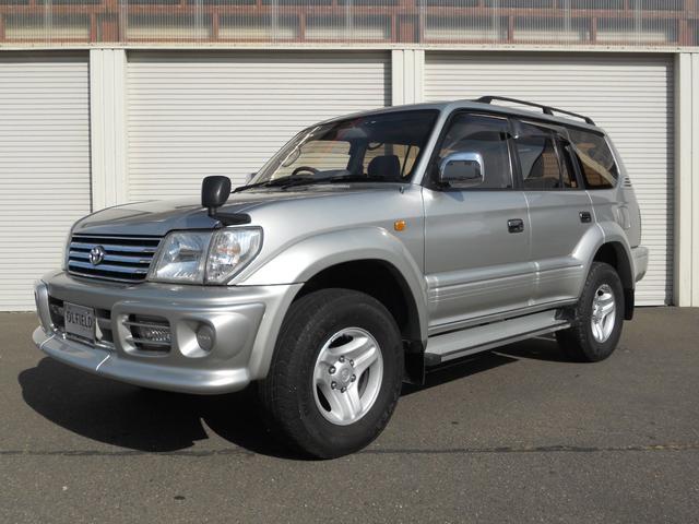 トヨタ ランドクルーザープラド TZ 4WD サンルーフ リアヒーター