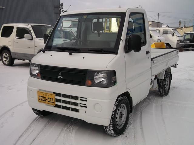 三菱 ダンプ 4WD マニュアル エアコン パワステ