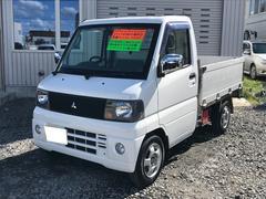 ミニキャブトラックVタイプ 4WD マニュアル5速 軽トラック アルミ CD
