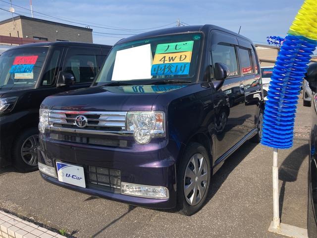 トヨタ ピクシススペース カスタム X 4WD HID スマートキー エコアイドル