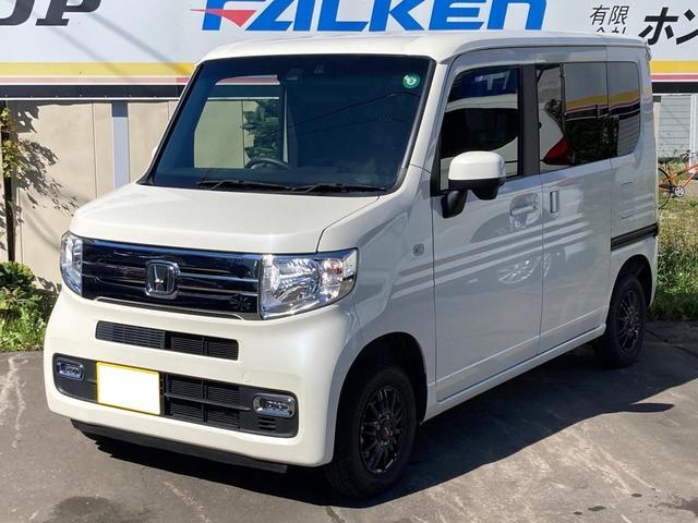 ホンダ N-VAN+スタイル クール・ターボホンダセンシング 4WD メモリーナビ・ワンセグTV・バックカメラ・Bluetooth クルーズコントロール 走行距離2.2万キロ