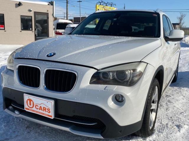 BMW X1 xDrive 25i 4WD AW AC オーディオ付 AT スマートキー HID パワーウィンドウ パワーシート