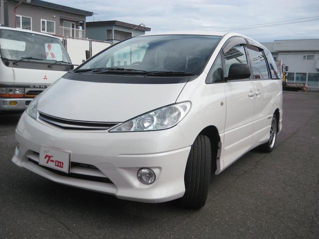 トヨタ エスティマL アエラス プレミアム ナビスペシャル 4WD