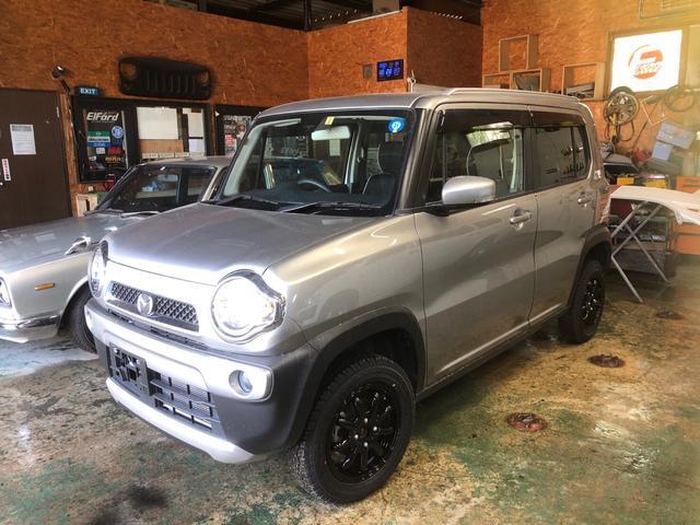 マツダ XT ターボ 4WD ワンオーナー 錆少な目 リフトアップ