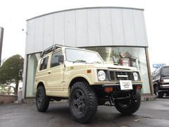 ジムニーランドベンチャー 4WD ハイリフト ターボ ルーフラック