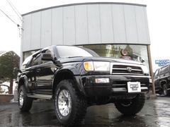 ハイラックスサーフSSR−Xワイド 4WD ハイリフト サンルーフ 新品コイル