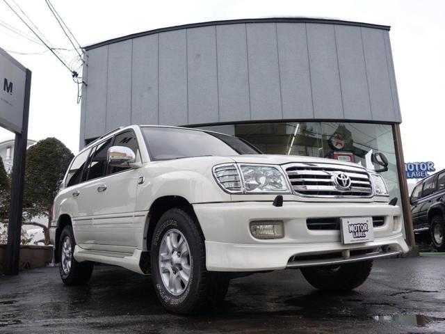 トヨタ VXリミテッド Gセレクション 4WD サンルーフ 社外ナビ