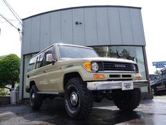 ランドクルーザープラドSXワイド 4WD 丸目ヘッドライト仕様 全塗装仕上げ