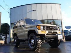 ランドクルーザープラドSXワイド 4WD ハイリフト 全塗装仕上げ済み 新品タイヤ