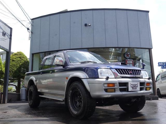 「三菱」「ストラーダ」「SUV・クロカン」「北海道」の中古車