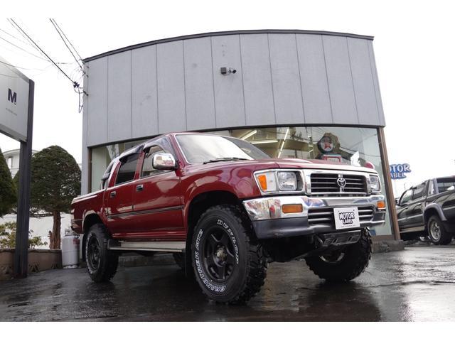 「トヨタ」「ハイラックスピックアップ」「SUV・クロカン」「北海道」の中古車