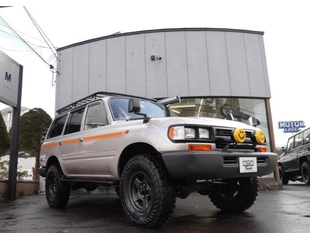 トヨタ GX 輸出仕様4灯ライト ラインXバンパー サイドオーニング