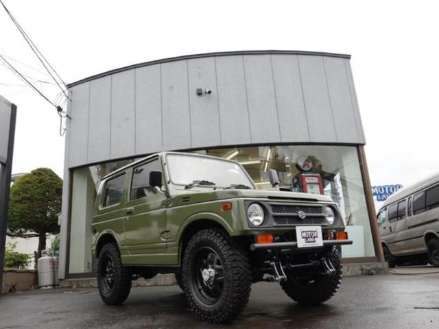 スズキ ジムニー サマーウインドリミテッド SJ30グリーン全塗装