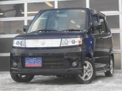 ワゴンRスティングレーX 4WD 社外ポータブルナビ ベンチシート
