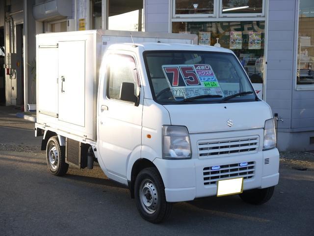 スズキ 冷凍販売車 4WD エアコン パワステ 5MT