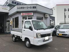 サンバートラックTB 4WD 三方開 エアコン インパネAT 軽トラック