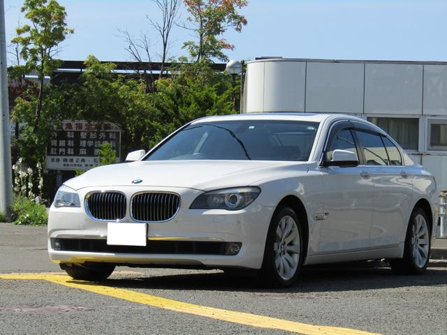BMW 740i 黒革シート サンルーフ HDDナビ ワンセグ バックカメラ Pセンサー