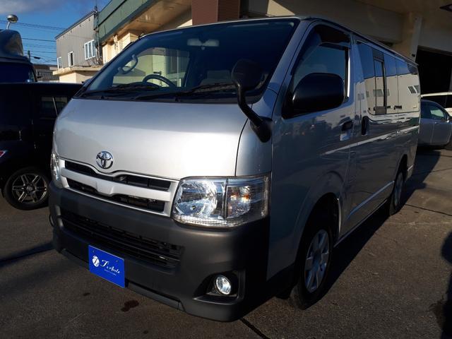トヨタ ロングDX 4WD・ナビ・TV・バックカメラ・リアヒーター・ETC・本州仕入・ボディーコーティング施工済み