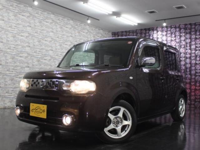 日産 キューブ 15X FOUR Mセレ ナビTV 4WD インテリキー