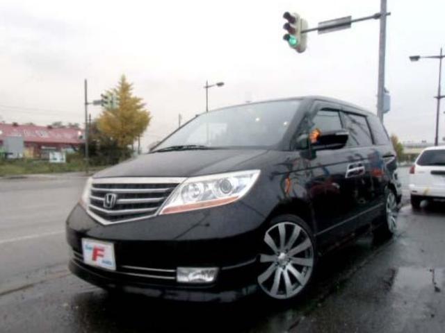 ホンダ 4WD S HDDナビスペシャル 黒革 ローダウン 19AW