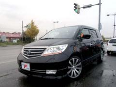 エリシオンプレステージ4WD S HDDナビスペシャル 黒革 ローダウン 19AW