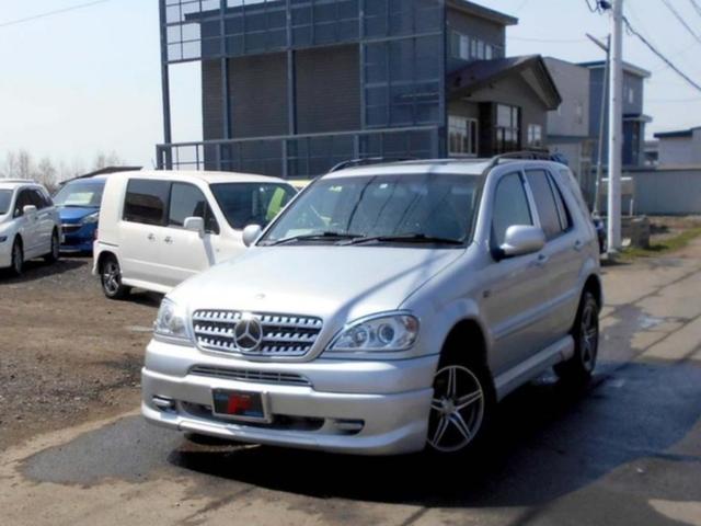 メルセデス・ベンツ 4WD ML270CDI 22AW エアロ ナビTV HID