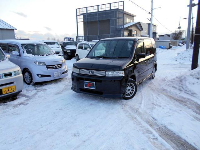 ホンダ 4WD 1.5A モデューロエアロ 夏冬タイヤ付