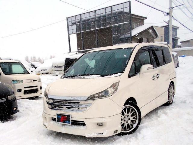 ホンダ 4WD 2.0G エアロ 両側電動ドア フルカスタム仕様