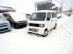 ミニキャブバン4WD CDスモーク張り 夏冬タイヤ付 エンスタ タイベル済