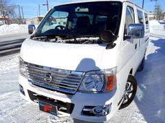 キャラバン4WD 3.0Dターボ ロングDX ナビ ETC 6人乗り