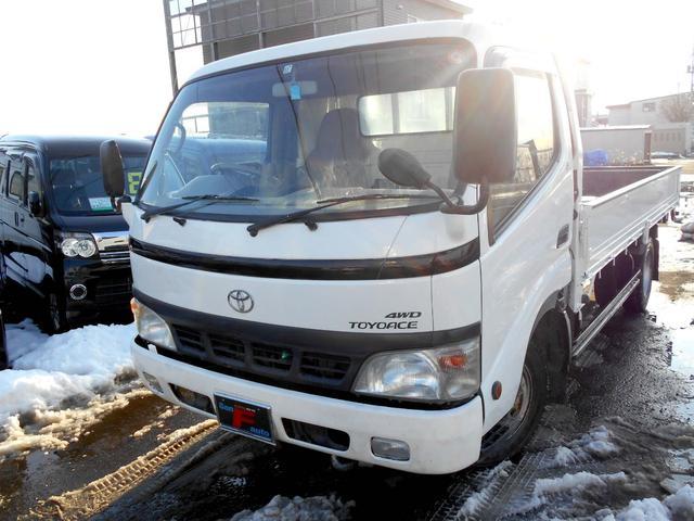 トヨタ 4WD 4.0DT ロングフルジャストロー 夏冬タイヤ付