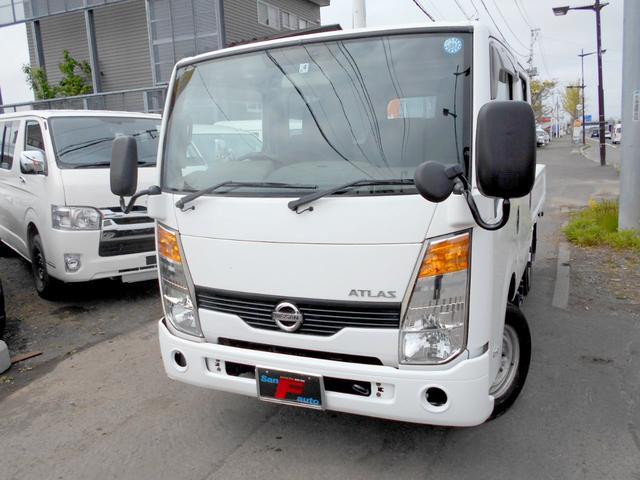 日産 アトラストラック 4WD 3.0ディーゼルターボ Wキャブ 6人乗り