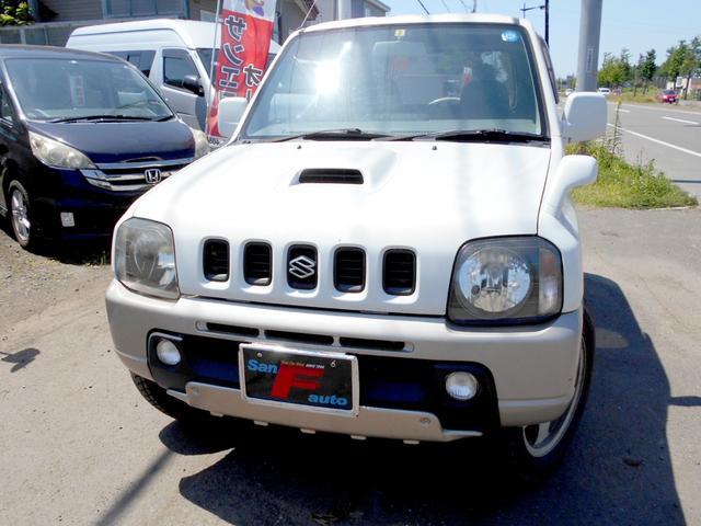 スズキ ジムニー 4WD  ランドベンチャーターボ 背面タイヤ