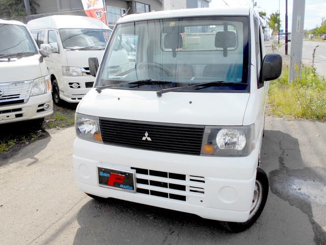 三菱 ミニキャブトラック Vタイプ 4WD 660V パワステ付