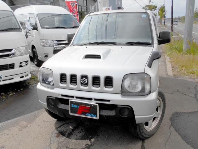 スズキ ジムニー  4WD ターボ ETC 社外アルミ タイミングベルトチェーン