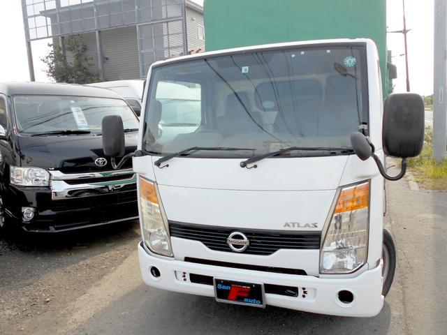 日産 アトラストラック フルスーパーローDX 4WD 3.0ディーゼル 垂直電動ゲート