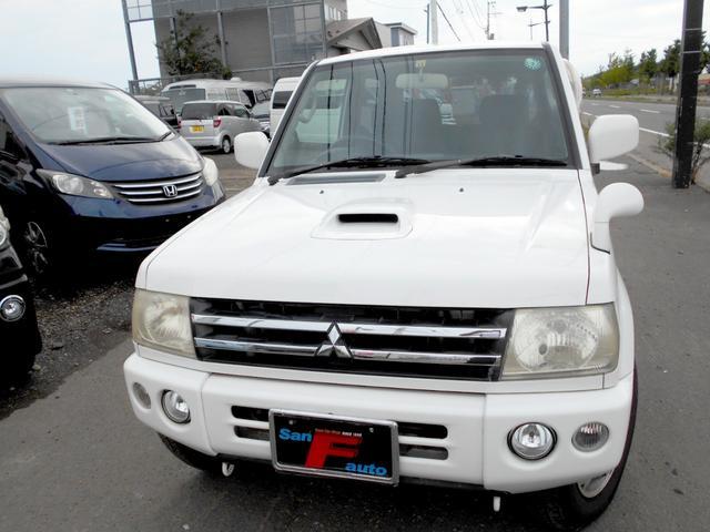 三菱 パジェロミニ アクティブフィールドエディション 4WD ターボ 修復歴無し タイミングベルト交換済 限定車