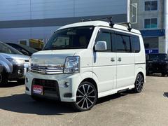 エブリイワゴンPZターボスペシャル 4WD SDナビテレビ 車中泊仕様