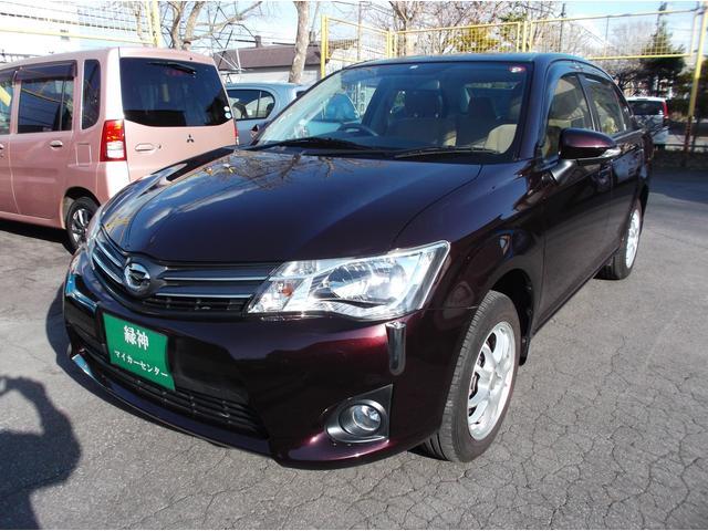 トヨタ カローラアクシオ 1.5X 4WD サイドバイザー キーレス
