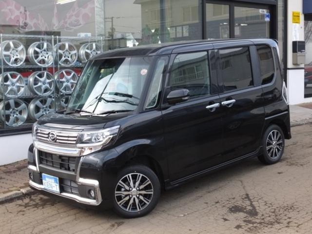 ダイハツ カスタムX トップエディションSAIII 4WD 純正ナビ