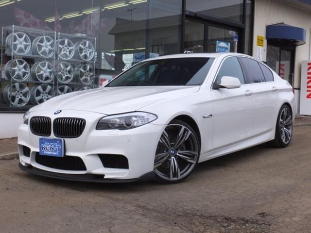 BMW 5シリーズ 528i M5仕様 MARVINステンレス4本マフラー HDDナビ フルセグTV バックカメラ サンルーフ ETC 本革シート パワーシート