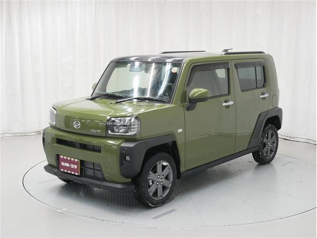 ダイハツ タフト Gターボ 4WD サンルーフ ドラレコ メモリナビ フルセグ
