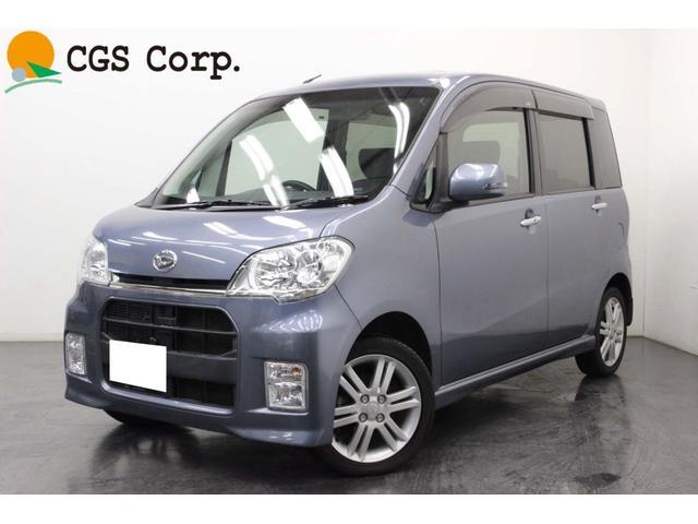 ダイハツ カスタムRS 4WD ターボ ナビ テレビ 本州仕入