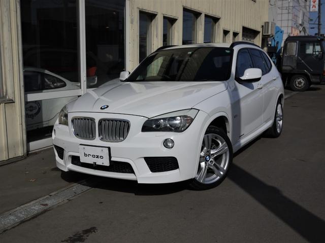 BMW X1 xDrive 25i Mスポーツパッケージ 4WD スマートキー HID オートライト ランフラットタイヤ バックカメラ 盗難防止システム ミュージックプレイヤー接続可