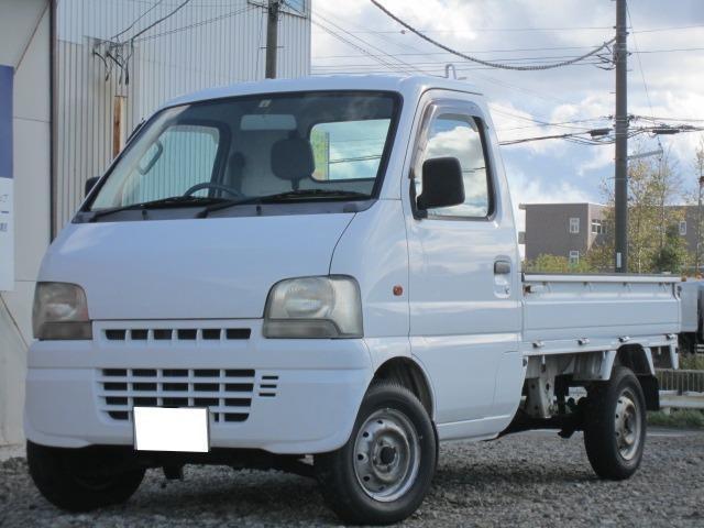 スズキ キャリイトラック KUスペシャル 3方開 4WD 1オーナー車 本州仕入れ エアコン付 オートマ
