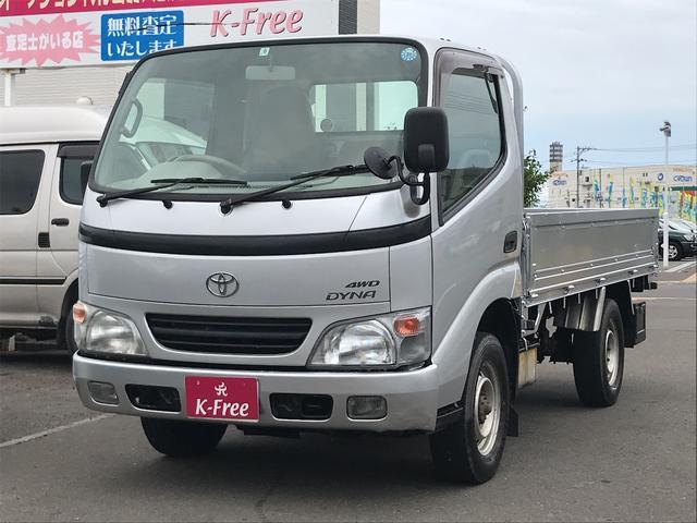 トヨタ ロングDX 4WD 荷台塗装済み エアコン付 ETC付