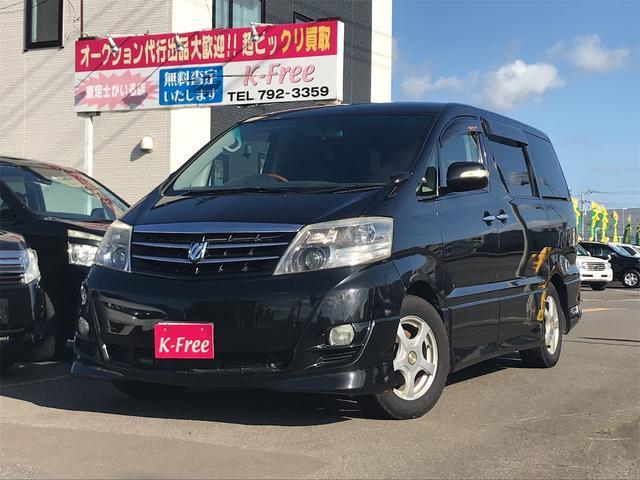 トヨタ アルファードV AS プラチナセレクションII 4WD 両側パワースライドドア ナビ バックカメラ